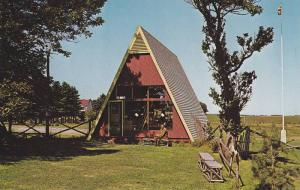 Indian Craft Shop, Micmac Indian village , Rocky Point, P.E.I. , Canada , 50-60s