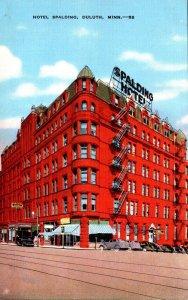 Minnesota Duluth Hotel Spalding