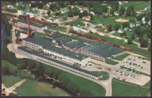West Bend Aluminum Co,Hartford,WI Postcard
