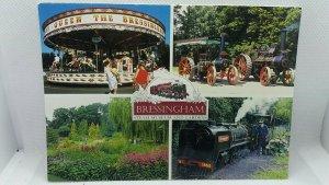 Job Lot Bulk Buy 10x New Bressingham Steam Engine Museum and Gardens Postcards