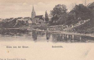 Gruss aus Weser ; Bodenfelde , Northeim, Lower Saxony, Germany , 1890s-1907