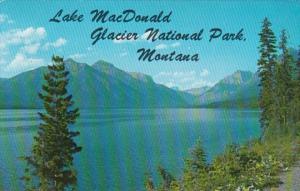 Montana Glacier National Park Lake McDonald 1975