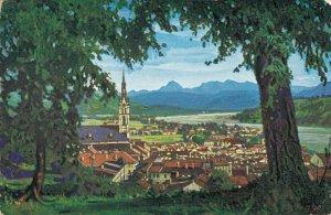 Germany Bad Tölz an der Isar mit Juifen und Zottenjoch 03.30
