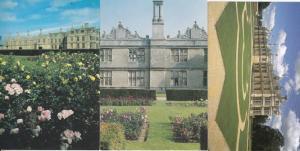Kirby Hall Northampton 3x Postcard