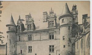 Postal castillos numero 080: Chateau Amboise