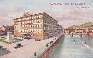 FLORENCE, Toscana, Italy; Excelsior Hotel De La Ville, Bridge, 00-10s