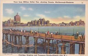 View From Million Dollar Pier Showing Dennis Marlborough Blenheim Claridge At...