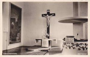 RP, Crucifix, Diakonissen-Anstalt, Stuttgart W., Germany, 1920-1940s