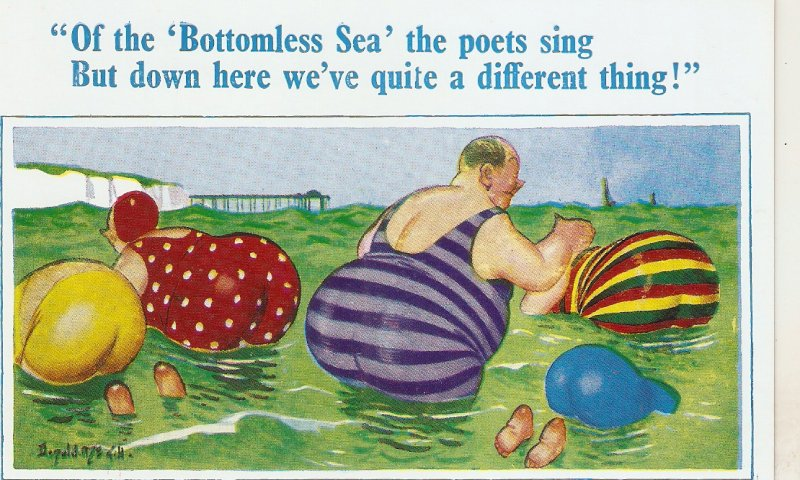 Donald McHill. Of the Bottomless Sea the poets.. D.Constance Comics PC # 1797