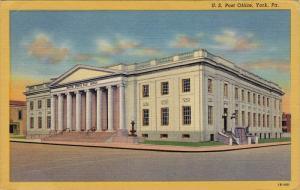U. S. Post Office, YORK, Pennsylvania, 1930-1940s