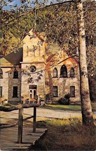 Skagway Alaska~City Hall and Museum~1950s Postcard