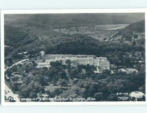 Old rppc THE GREENBRIER HOTEL White Sulfur Springs West Virginia WV HM4060
