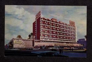 NV Fremont Hotel Casino Las Vegas Nevada Postcard PC