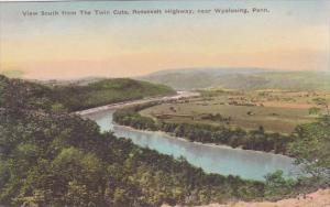 View South From The Twin Cuts Roosevelt Highway Near Wyalusing Pennsylvania H...