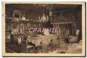 Old Postcard Dives sur Mer Room Marmousets William the Conqueror Hostellerie