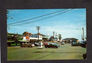 ME Amusement Park Wolfies Restaurant Noahs Ark Old Orchard Beach Maine Postcard