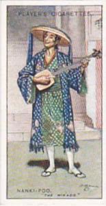 Player Vintage Cigarette Card Gilbert & Sullivan 2nd Series No 20 Nanki-Poo  ...