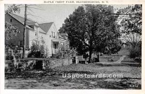 Maple Crest Farm Bloomingburg NY Unused