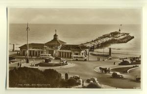 tp7426 - Hants - The Pier at Bournemouth &  back in the 40s - Postcard