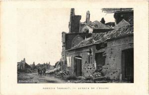 CPA MILITAIRE Moreuil-Autour de l'Eglise (316337)