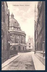Catherine Street Oxford England unused c1920's