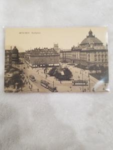 Antique Postcard, Munchen - Karlspatz