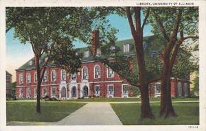 Library, University of  Illinois, Illinois,  00-10