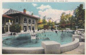 ST. LOUIS, Missouri, 1931; Wading Pool, O'Fallon Park
