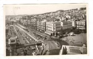 RP: ALGER , Boulevard de la Republique et Boulevard Carnot , Algeria, 20-40s