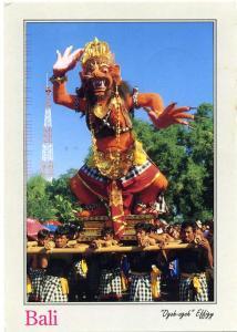Ogoh-Ogoh Effigy - Bali, Indonesia - pm 1993