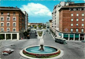 Italy Pisa tramway car Avenue Gramsci