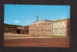 QC Justice Court House Baie Comeau Quebec Canada Postcard Carte Postale