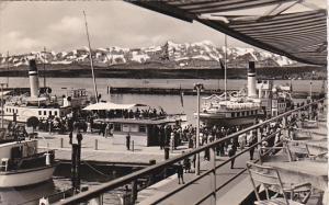 Germany Friedrichshafen Hafen von der Bahnhofstrasse