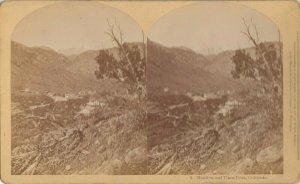 SV ; Mantiou & Pikes Peak , Colorado , 1877