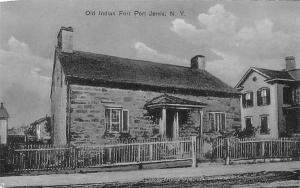 Old Indian Fort Port Jervis, New York Postcard