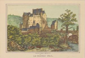 Germany Die Mosel Von Metz Bis Koblenz Le Chateau Delz