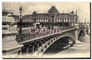Old Postcard Lyon Le Pont de l'Universite