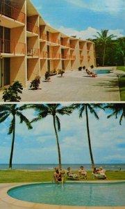 Hale Kai O'Kihei Condominium Written On Maui Hawaii Chrome Vintage Postcard