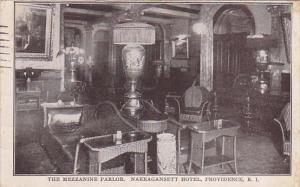 Rhode Island Providence The Mezzanine Parlor Narragansett Hotel 1932