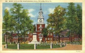 Barry statue and independence hall -pa_qq_5270