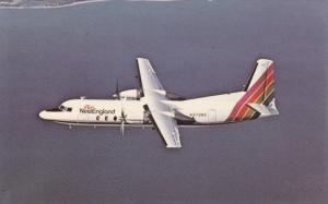 Air New England Fairchild-Hiller FH-227C Jet-Prop Airplane