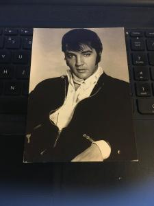 Vintage Postcard - ELVIS The King