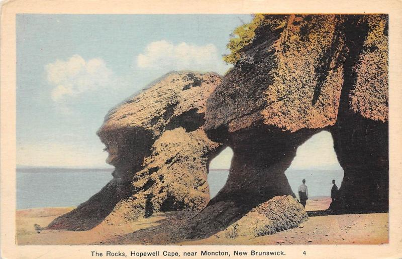 B5122 The Rocks Hopewell Cape near Moncton