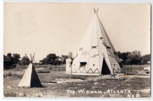 RPPC, The Wigwam, Atlanta NB