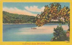 South Carolina Belton Greetings From Belton 1953