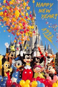 USA Putting The Magic in the Kingdom Happy New Year 1992 Wald Disney World