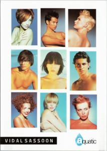 Vidal Sassoon Aquatics models hairstyle  Tysons Galleria Washington DC