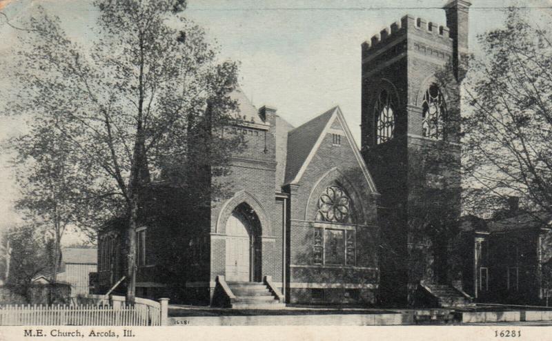 ARCOLA , Illinois , 1900-10s ;  M. E. Church