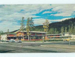 Unused Pre-1980 MOUNT ROBSON MOTEL Jasper Alberta AB o0446