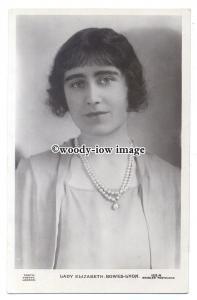 r2004 - Lady Elizabeth Bowes-Lyon who became wife of King George VI - postcard